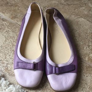 EUC Worn once cushioned in sole flats